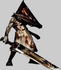 Ps2 review silent hill 2 gives survival horror new meaning - Pyramid head boss fight ...