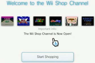Wii Shop Channel Update