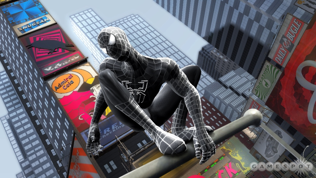 Spider Man game Pictures