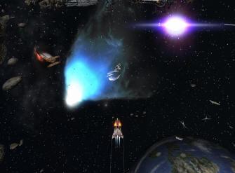 Battlestar Galactica Xbox Live Arcade screenshot