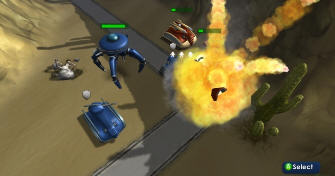 Commanders: Attack! Xbox Live Arcade screenshot