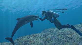 Endless Ocean Wii screenshot