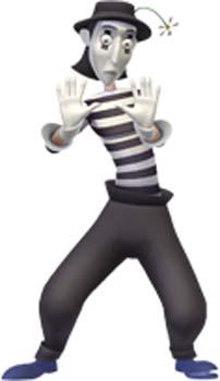 mon pote le mime outre le fait que ce soit le seul personnage que je
