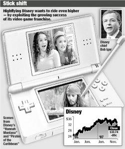 Disney chief Bob Iger talks future Hannah Montana and Pirates of the Caribbean games