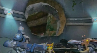 Cronk and Zephyr in Ratchet & Clank Future
