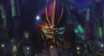 Emperor Percival Tachyon in Ratchet & Clank Future