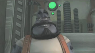 The Plumber in Ratchet & Clank Future