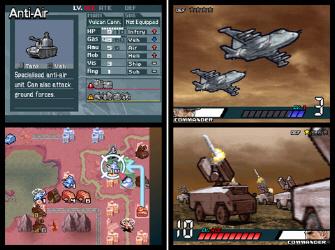 Advance Wars: Days of Ruin DS screenshots