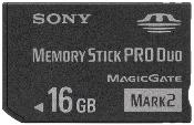 Sony 16GB Memory Stick Duo