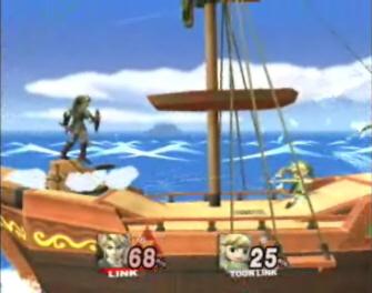 Toon Link unlocked