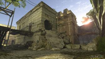 Halo 3 Ghost Town map screenshot