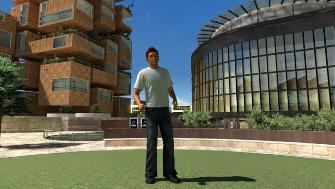 PS3 Home avatar screenshot