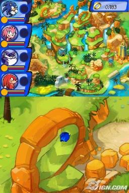 Sonic, about do do a loop-de-loop
