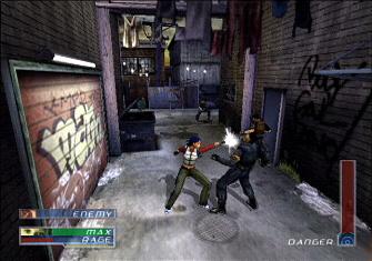 Dark Angel game screenshot