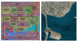 Grand Theft Auto 1 San Andreas and San Francisco map