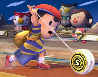 Ness from Earthbound and Smash Bros