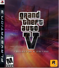 Grand Theft Auto 5 PS3 fake boxart