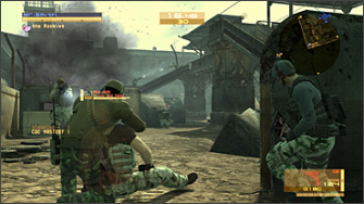 Metal Gear Online beta screenshot