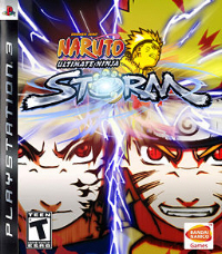 Naruto: Ultimate Ninja Storm PS3 boxart