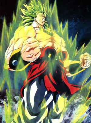 5. Broly (Legendary Super Saiyan transformation)