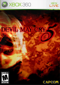 Devil May Cry 5 Xbox 360 fake boxart