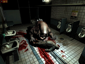An infamous scene from Doom 3. Now just imagine the graphics from Doom 4!