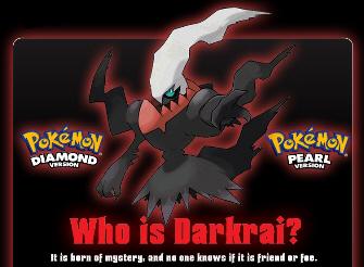 Legendary Pokemon Darkrai