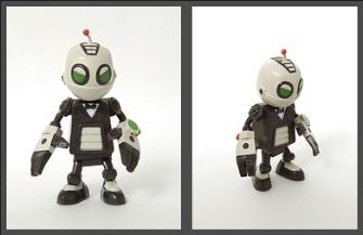 Secret Agent Clank figure