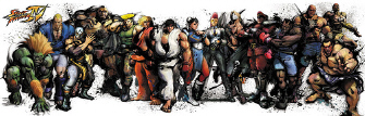 official street fighter 4 character list playstation