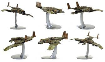 Warhawk statues