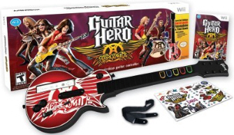The Guitar Hero: Aerosmith Bundle for Wii
