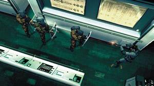 Metal Gear Solid 2 Line Em Up, Knock Em Down
