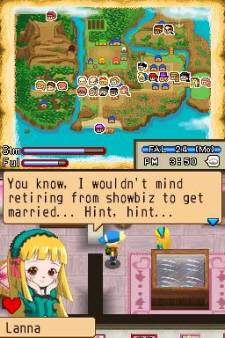 Island of Happiness DS screenshot