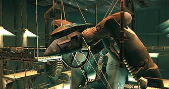 Metal Gear Solid 2 Metal Gear RAY