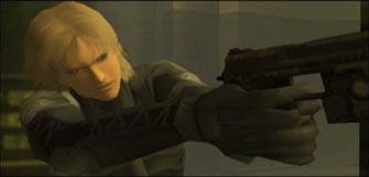 Metal Gear Solid 2 Raiden screenshot