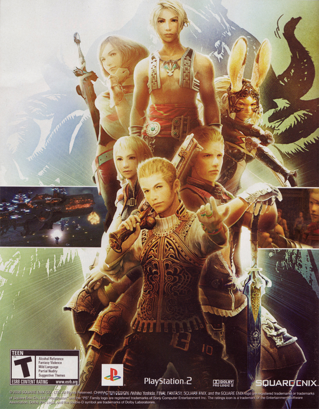 final fantasy xii cast Final Fantasy 12: HUNTS