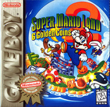 Super Mario Land 2: 6 Golden Coins for Game Boy
