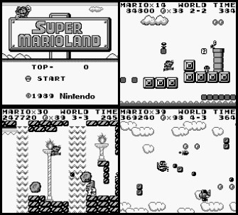 Super Mario Land screenshots