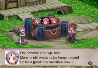 Disgaea 2: Cursed Memories Story Screenshot