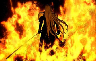 The town burns, can it be saved? Just like Sephiroth in Final Fantasy VII . . .