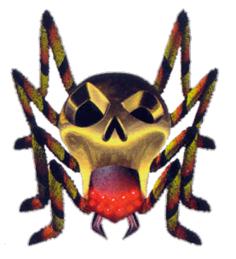 Gold Skultulla Artwork (Zelda: Ocarina of Time)
