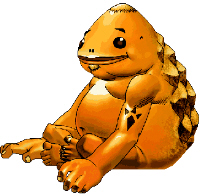 Goron Artwork - Zelda: Ocarina of Time