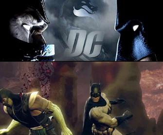 MK vs DCU Batman vs Scorpion Screenshot Artwork