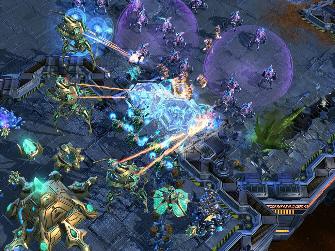 StarCraft 2 Gameplay Screenshot
