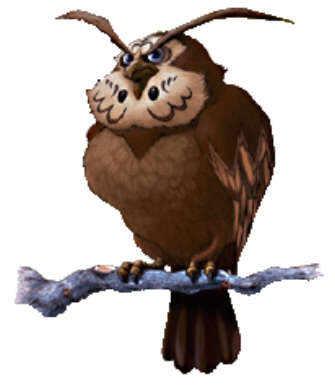Zelda Owl (Kaepora Gaebora) Artwork (Ocarina of Time)