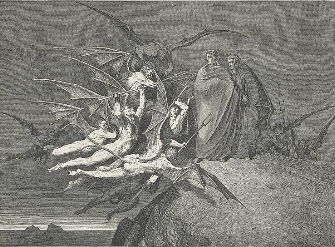 Classic Dante's Inferno Artwork