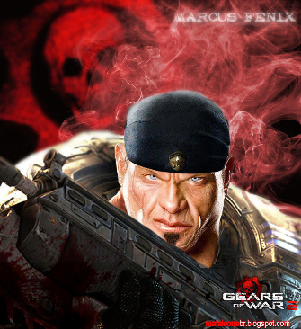 Real Marcus Fenix Gears of War 2 Artwork