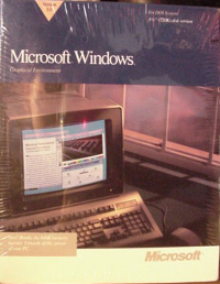 Microsoft Windows 3.0 Operating System (shrink-wrapped)