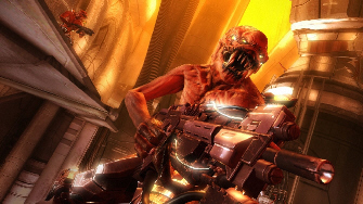 Resistance 2 Chimera weapon attack screenshot