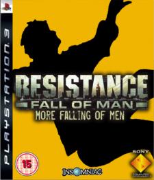 Resistance 3 PS3 fake boxart